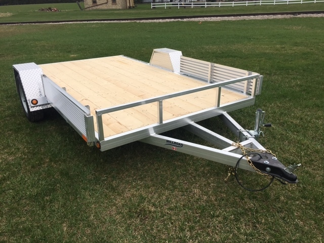 flat deck utility trailer