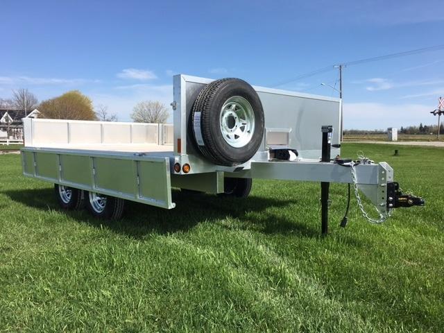 aluminum deck over trailer for sale