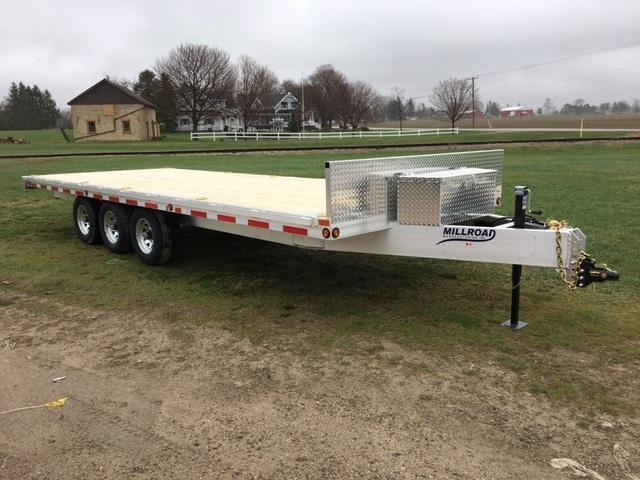 Deckover trailer