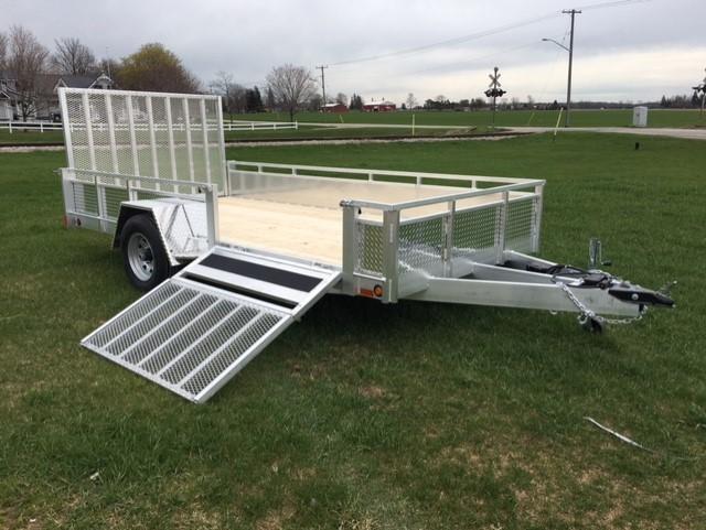 Landscape utility trailer