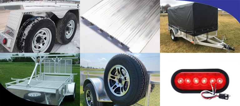What Accessories Can You Add to Your Aluminum Landscape Trailer?
