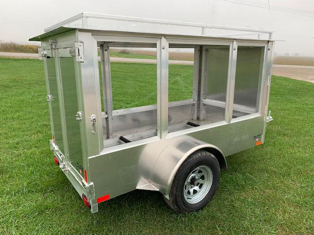 custom enclosed trailer