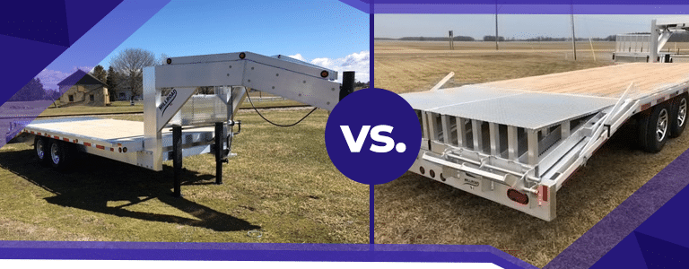 Fifth Wheel vs. Gooseneck Trailers- What's the Difference