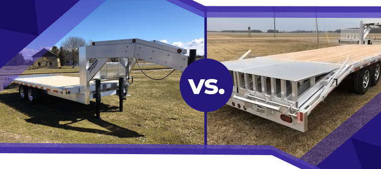 Fifth Wheel vs. Gooseneck Trailers: What's the Difference?