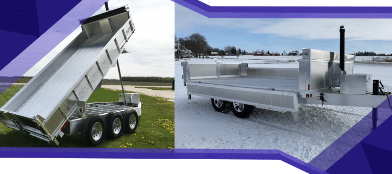 How Millroad Trailers Make the Job Easier