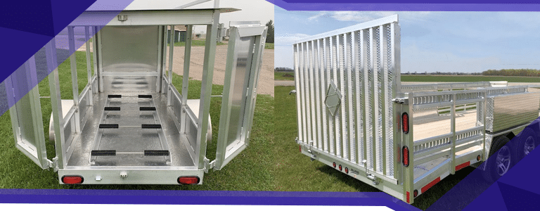 How To Choose the Right Custom Aluminum Trailer Size