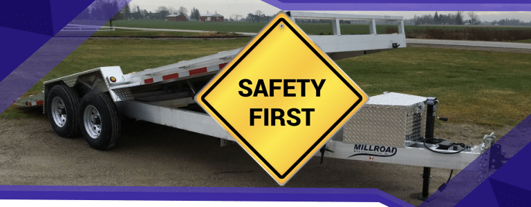 Safety Tips for Using a Trailer Loading Ramp