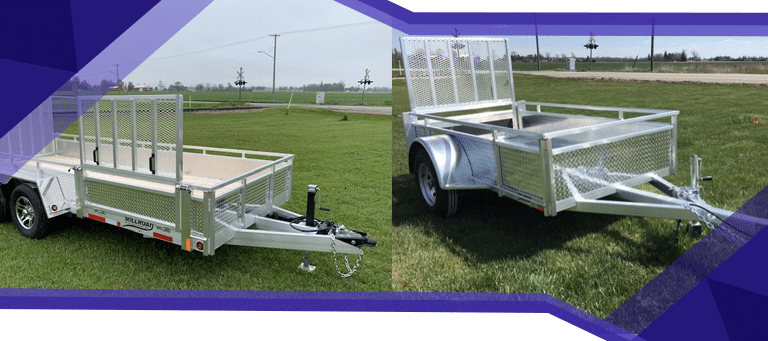 5 Things to Know About Tires on a Custom Aluminum Landscape Trailer