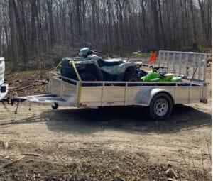 Choosing the right ATV trailer
