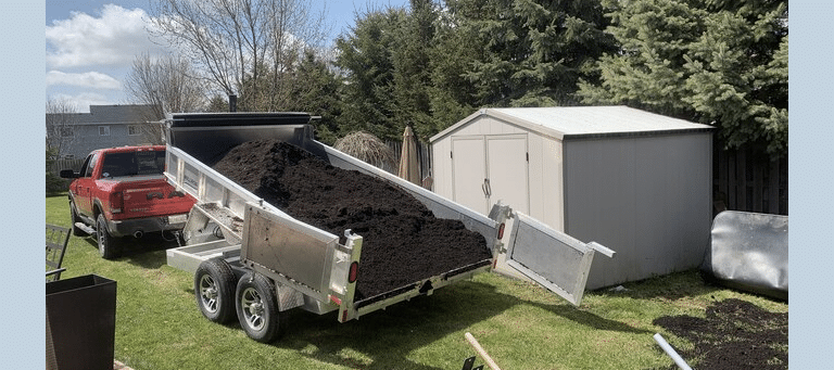 Here's Why a Millroad Dump Trailer Makes the Job Easier!