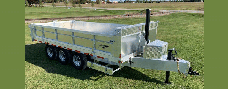 See Why This Dump Trailer Is a Millroad Fan Favourite