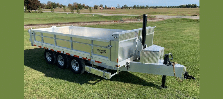 See Why This Dump Trailer MDD816-10 Is a Millroad Fan Favourite