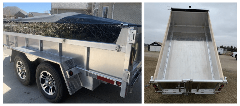 What Size Dump Trailer Do I Need?