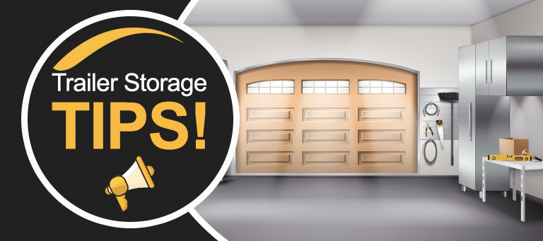 Storage Tips for Your Utility or Flatdeck Trailer