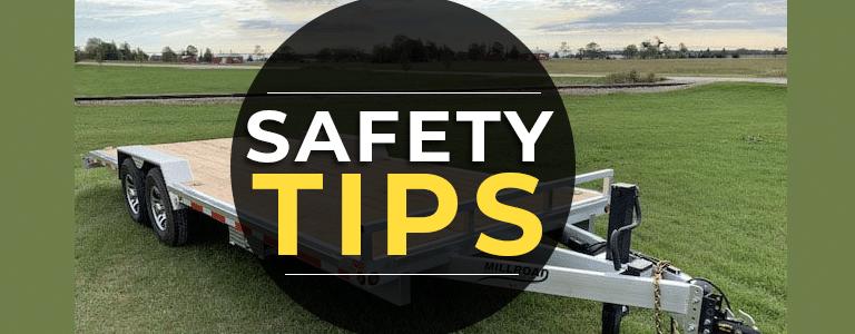 Flat Deck Trailer Safety Tips
