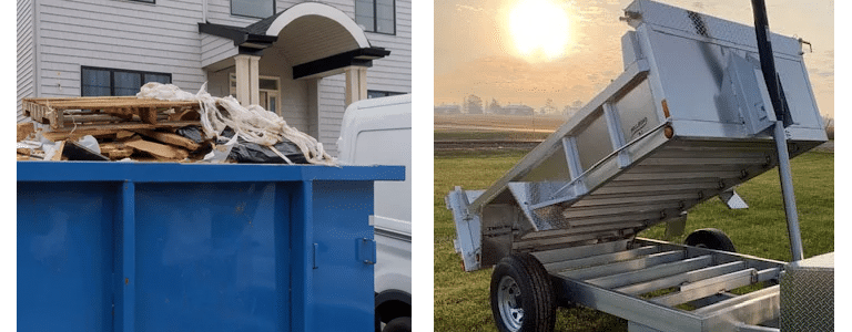 We have a dump trailer for sale that fits your needs