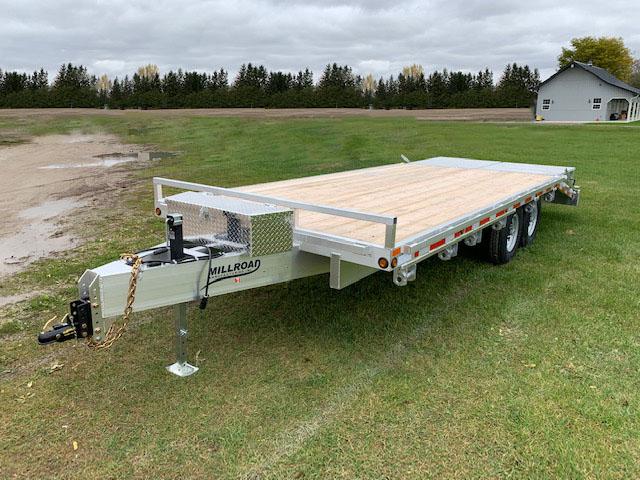 MDO25B-7 W/ TOOL BOX & FULL WIDTH FLIP OVER RAMPS