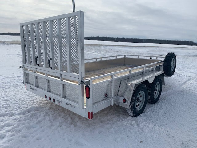 MST1480 W/ COMBO TAILGATE, TOOL BOX & MOUNTED SPARE TIRE